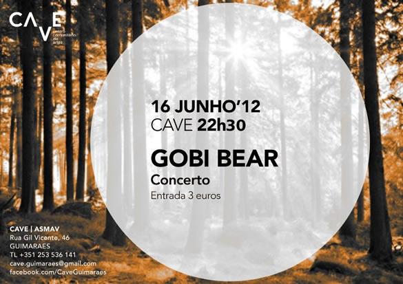 Gobi Bear – C.A.V.E. – Guimarães – 16 Jun 12