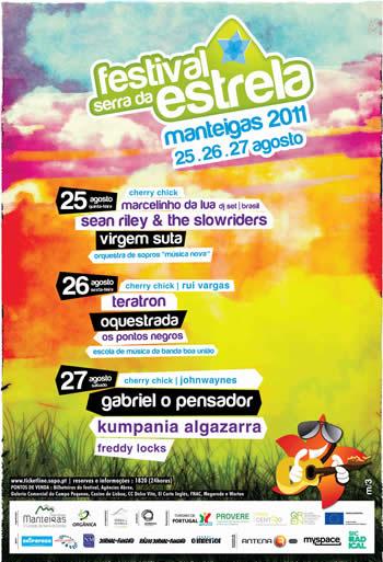 cartaz Festival Serra da Estrela