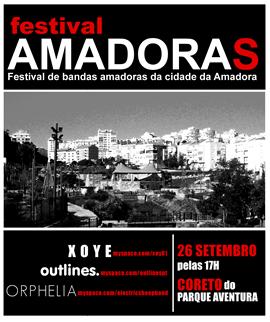 cartaz Festival Amadoras