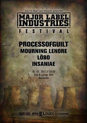 cartaz de Major Label Industries Festival