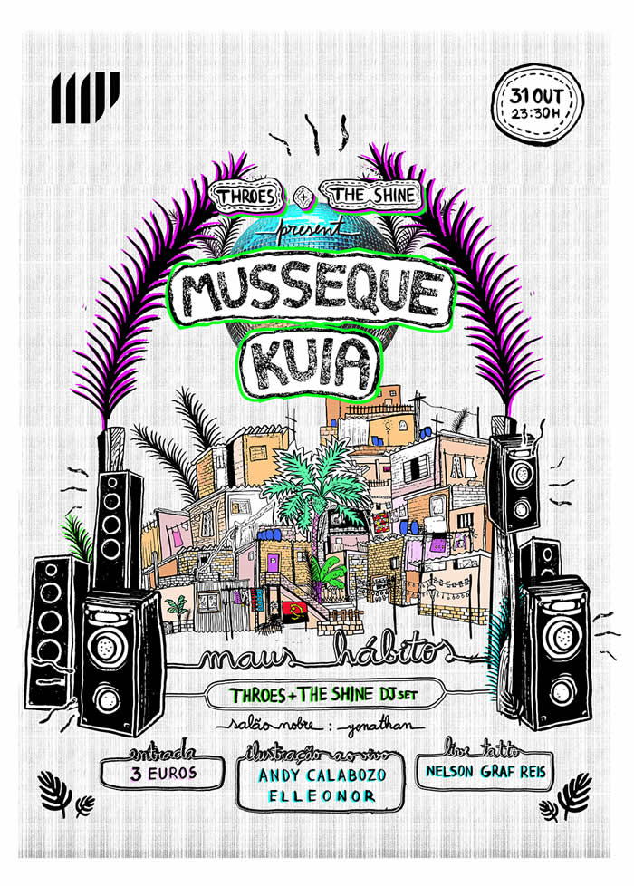 Throes   The Shine present Musseque Kuia (Cartaz final - Web)