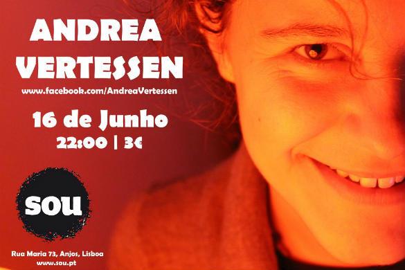 Andrea Vertessen – Espaço SOU – Lisboa – 16/Jun/12