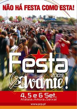 cartaz Avante 09