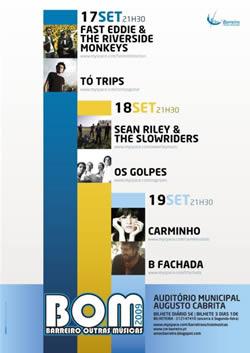 cartaz do Barreiro Outras Músicas