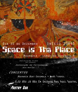 cartaz Space is tha Place