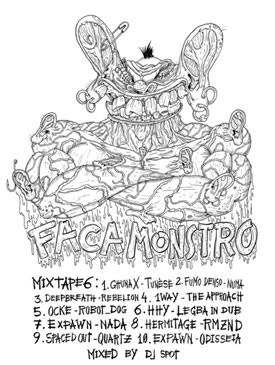 """""""Faca Monstro Mixtape Vol.6"""" – Vários Artistas"""