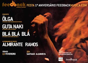 cartaz festa Feedbackmusica.com