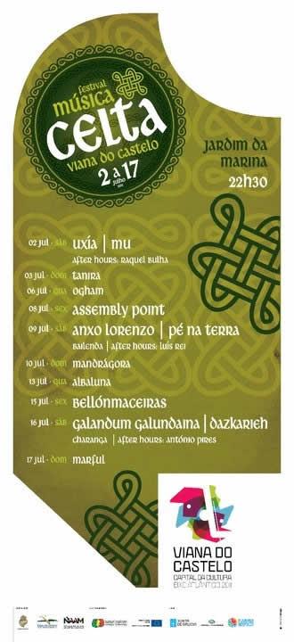 cartaz Festival Celta