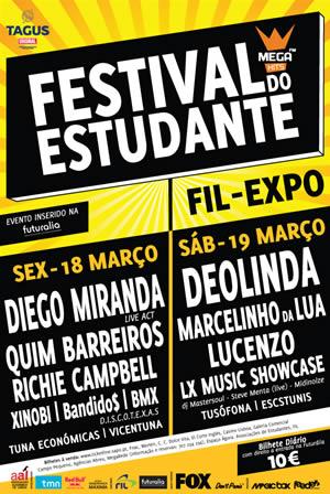 cartaz festival do estudante