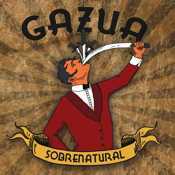 """Gazua """"Sobrenatural"""" (CD/Rastilho Records)"""