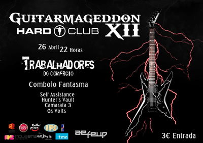cartaz Guitarmageddon