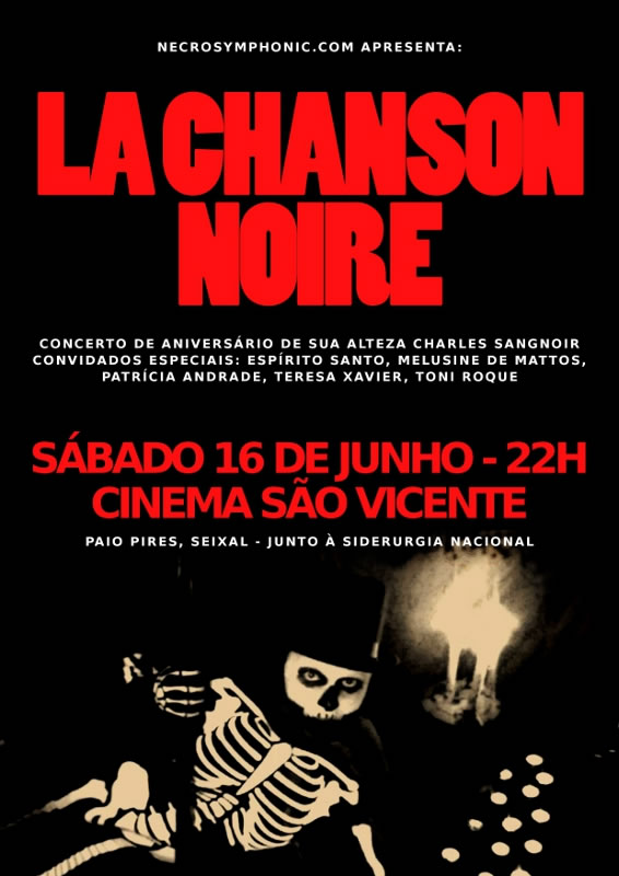 La Chanson Noire – Cinema São Vicente – Seixal – 16/Jun/12