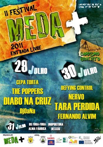 cartaz II Festival Meda +