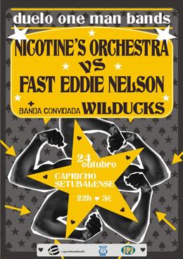 cartaz Duelo One Man Bands