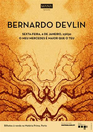 cartaz Bernardo Devlin