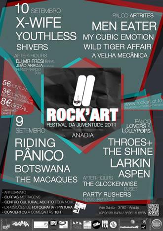 cartaz rock'art