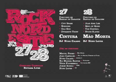 cartaz Rock Nordeste