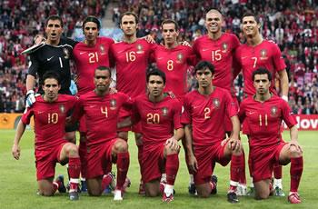imagem da seleção portuguesa