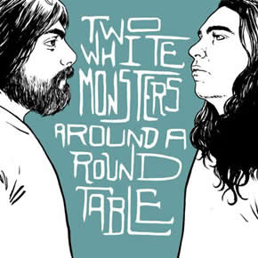 capa de Two White Monsters Around a Round Table