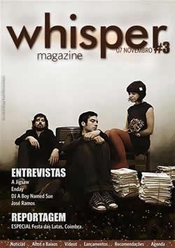 capa de Whisper #3
